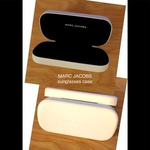 Marc Jacobs  Not Used Sunglasses Case white